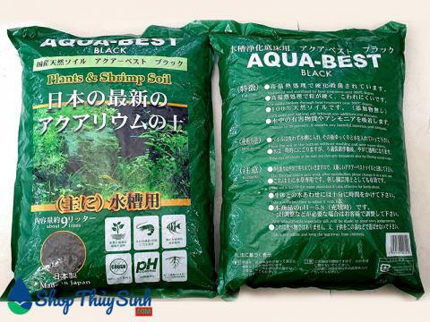 Phân nền thủy sinh Aqua-Best Black Nhật Bản