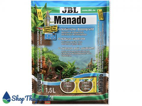 Phân nền thủy sinh JBL Manado bề mặt xốp kích rễ tốt
