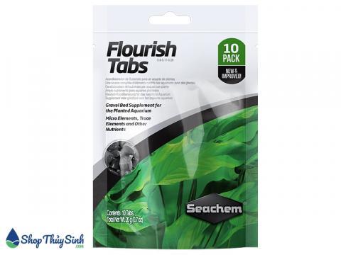 Phân nhét thủy sinh Seachem Flourish Tabs
