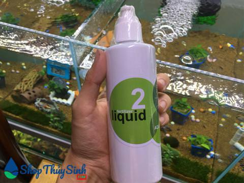 Phân nước thủy sinh Liquid 2 giúp cây ra rễ ổn định