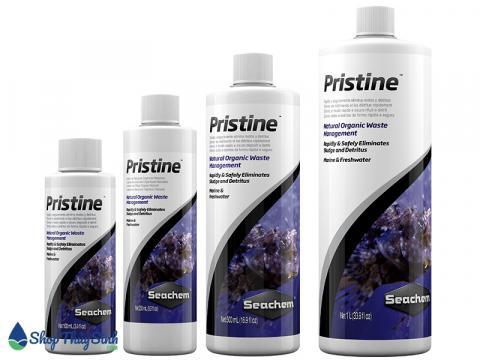 Pristine Seachem vi khuẩn có lợi chuyên xử lý mùn hữu cơ