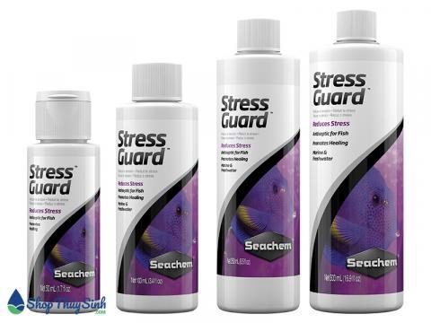 Seachem StressGuard giảm stress và tránh tụt nhớt cho cá cảnh