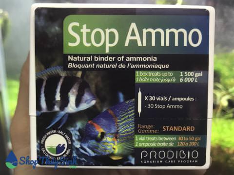 Stop Ammo trì hoãn sự phát triển của amoniac giảm tỉ lệ Nitrit