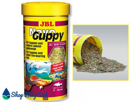 Thức ăn cho cá bảy màu JBL NOVO GUPPY