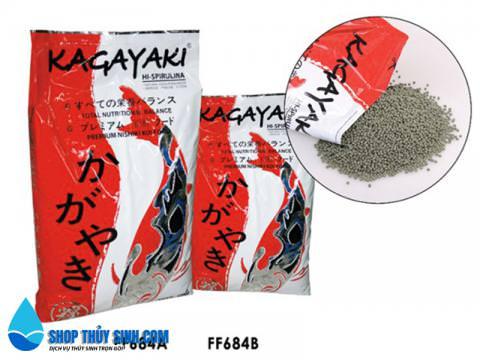 Thức ăn cho cá cảnh Kagayaki Koi Food Spirulina