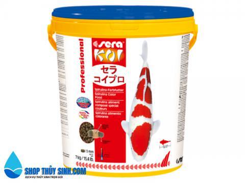 Thức ăn cho cá koi Sera Koi Professional Color tăng màu chuẩn