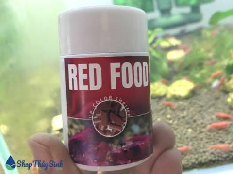 Thức ăn cho tép cảnh Red Food