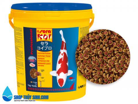 Thức ăn chuyên dụng cho cá Koi Sera Koi Professional Summer