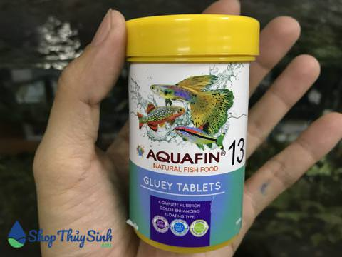 Thức ăn viên dán cho cá cảnh AquaFin 13