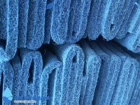 Vật liệu lọc bùi nhùi J-MAT phù hợp nhiều hệ thống lọc