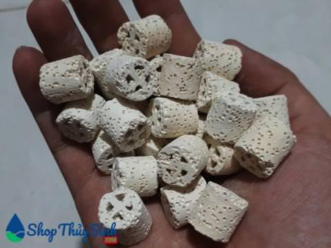 Vật liệu lọc sứ lọc dạng kaldnes