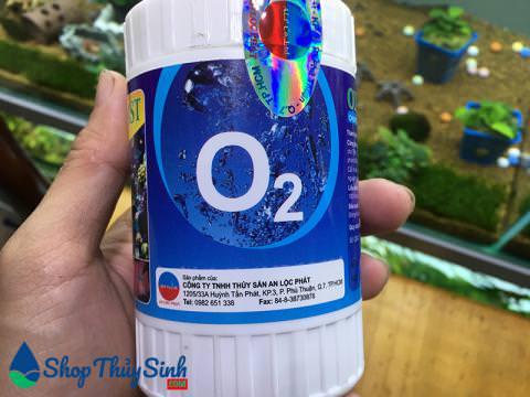 Viên sủi oxy cho bể cá cảnh thuận tiện khi ship cá đi xa
