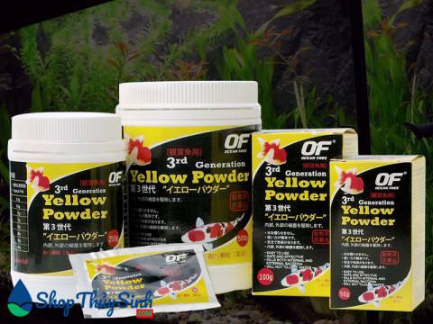 Yellow Powder của Nhật chuyên dưỡng và kháng khuẩn cho cá